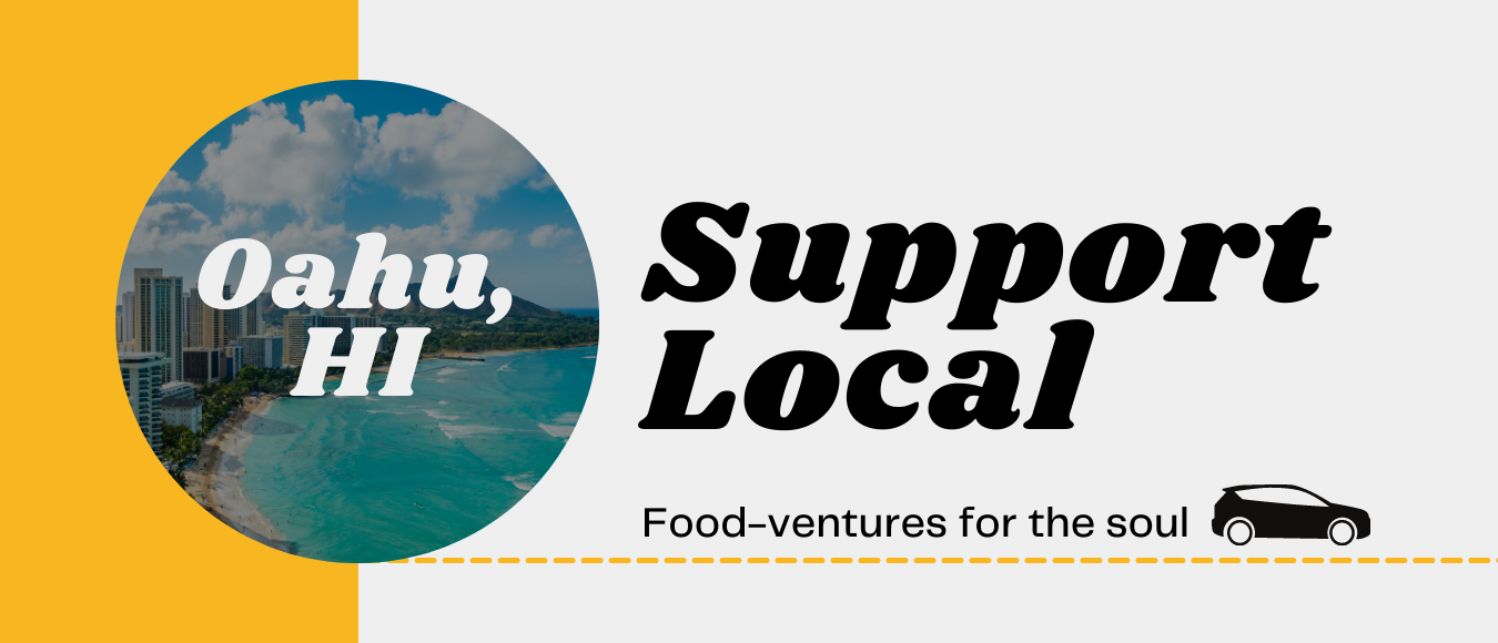 Food Ventures Support Local graphic for Oahu, HI
